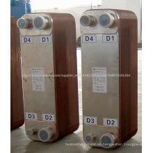 SWEP soldadas intercambiador de calor de placa ZL200C