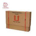 Professional recyclable custom standard sizes carton packing box lcd tv