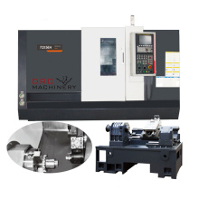 High speed cnc turning center slant bed CNC lathe with turret and tailstock