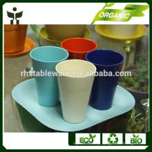 Tazas y platillos Tipo de copas y características ecológicas taza de café de fibra de bambú