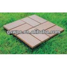 Material de construcción Wpc DIY Decking Flooring / WPC Decking
