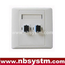 Face Plate, 1port 2ports 4ports
