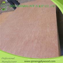 Uma madeira compensada comercial da categoria quente da imprensa UTY de 5mm de Linyi