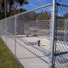 Galvanized 9 gauge chain link mesh fence chain link fence panels