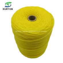 Factory Price 0.5-6mm Virgin PE/Polyethylene/Nylon/Plastic/Thread Monofilament Twisted Twine for Building Supermarket
