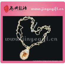 Fashionable Bling Crystal Pendant New Design Necklace Beads Crochet