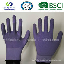 Foam Latex Coated Gardening Work Gloves