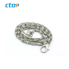 Wholesale custom reasonable price silver decorative accessories stainless steel chain chain custom decorative metal chain