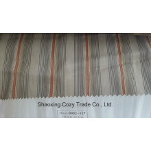 New Popular Project Stripe Organza Voile Sheer Curtain Fabric 0082117