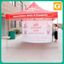 Wholesale pop up tenda com impressão de design personalizado