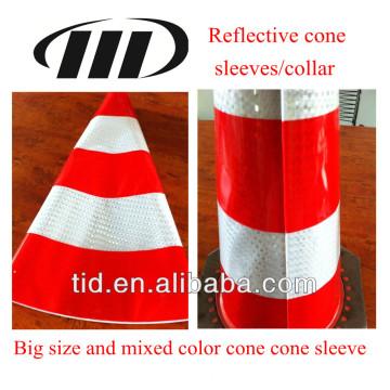 manga de cone reflexivo