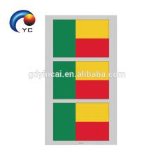 Etiqueta engomada temporal del tatuaje de la bandera nacional 2018