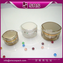 SRS China A Set Of Cream container Cosmetic Containers plastic type cosmetic jar