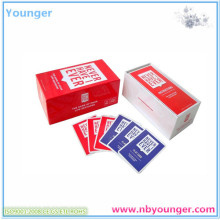 Never Have I Ever Paper Cards Game