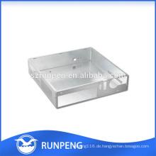 CNC Punching Aluminium Elektronikgehäuse