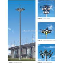 Q235B High Mast Lighting Polygonal Steel Pole