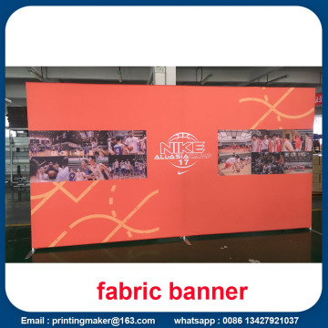Stretch Straight Fabric Banner Graphic