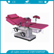 AG-C102C multifunction birthing hospital obstetric surgical instrument gynecology examination bed