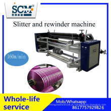 Fita / fita / BOPP / não tecido / máquina de corte e rebobinamento de papel