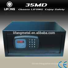 Hotel safe box with display and easy operation