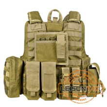 Light weight 1000D Cordura Bulletproof Vest with quick release system flame retardant and waterproof