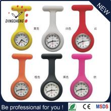 Heiße Verkaufs-kundenspezifische Silikon-Krankenschwester-Uhr / Art- und Weiseuhr (DC-1491)