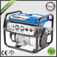 2.5kw 168FA генератор бензина 6.5hp бензиновый генераторный агрегат