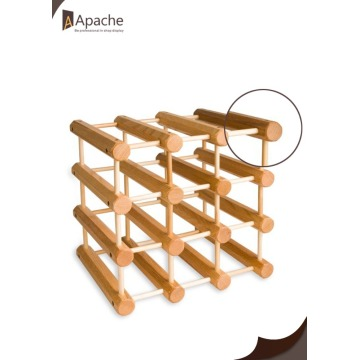 Modular Expandable Customizable Wine Rack
