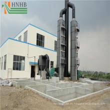 Instalación simple Filtro de polvo industrial para purificación de aire