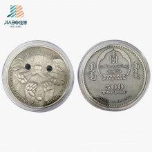 Антикварные Серебряные Настройки Австралийский Коала Выдвиженческий Подарок Сувенир Металла Монеты