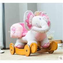 Multifunction Baby Rocking Animal-Elephant Rocker