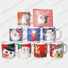 Christmas Music Mug, Music Mugs, Ceramic Cup, Mug