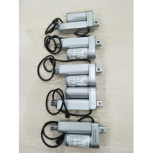 Electric linear actuator systems for textile machinery