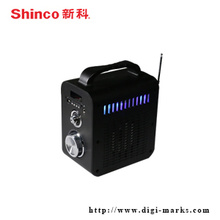 Portable Wireless Mini LED Bühne Stereo Radio Bluetooth Lautsprecher