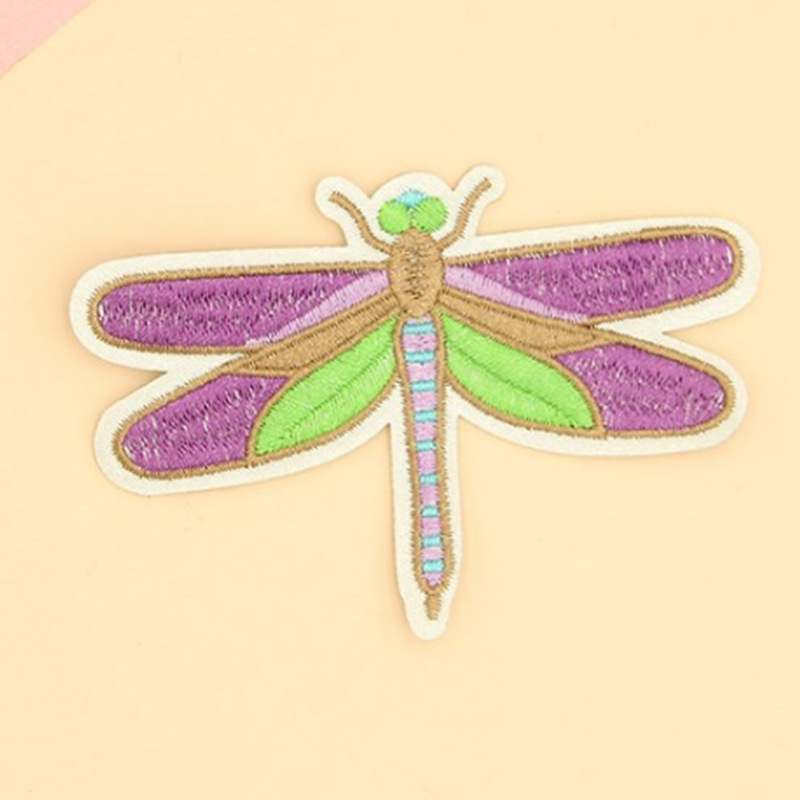 flying bug embroidery