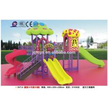 B0710 kindergarten New Kids Outdoor Casa de hongos de plástico Playground Equipment Design