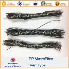 Macrofiber PP Twist Fiber 19mm 48mm 54mm