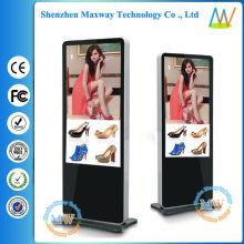 """Display multi-zona e suporte de chão tipo slim 55 """"digital signage"""