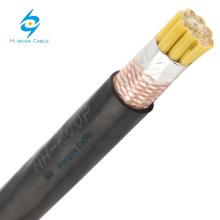 low voltage 450/750v copper shielded wearable zr-kvvp cu/ pvc/pvc control cable