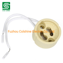 GU10 Lamp Holder Wire Connector Ceramic Socket for GU10 Light