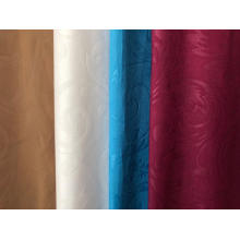 Microfiber fabric dyed embossed