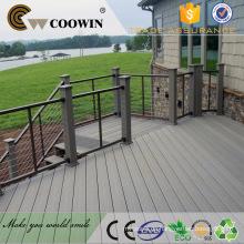 WPC Hitzebehandeltes wasserdichtes Holz solide Deck Holz