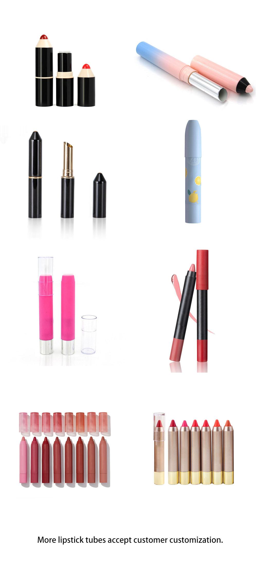 Moisturizing crayon lipstick tube