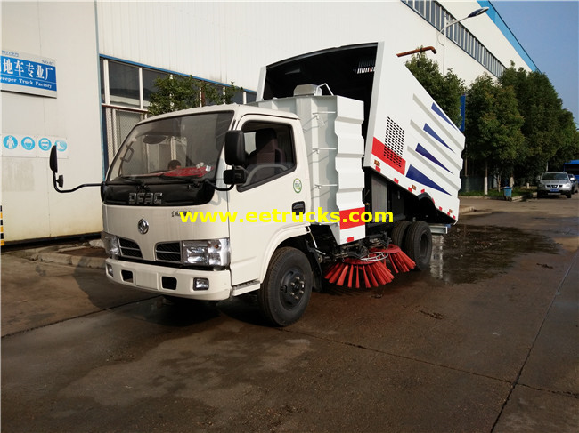 Dongfeng Street Sweeper Vehicles