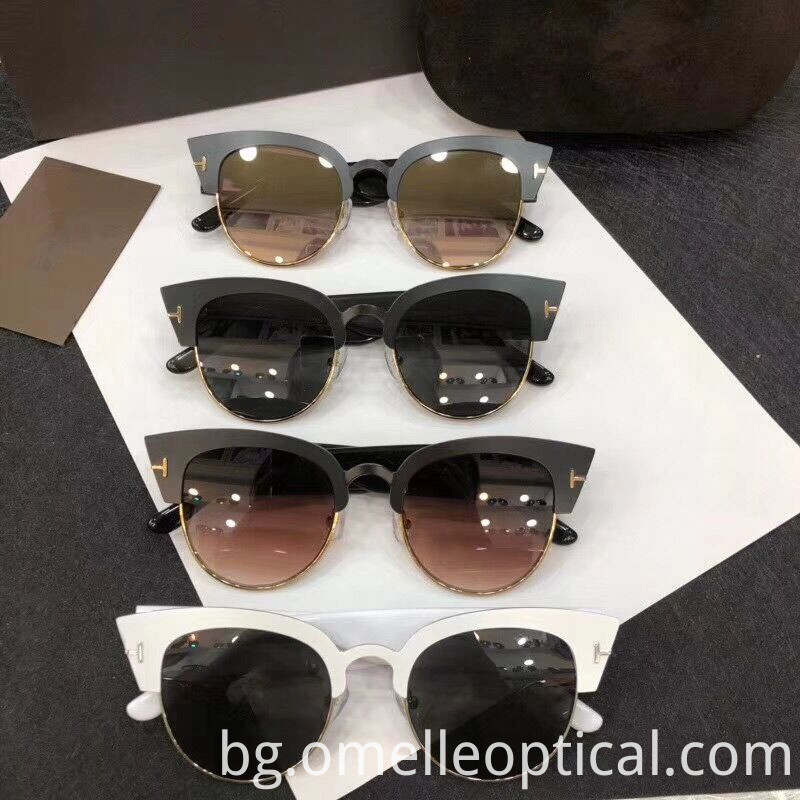 Metal Lens Sunglasses