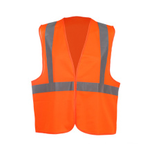 100% Polyester Tricot Reflective Vest with En ISO 20471