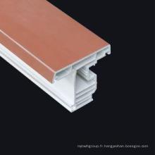 Profil uPVC pour fenêtres de matériaux de construction