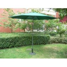im freien Garten Sonnenschirm