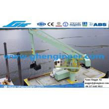 Jetty Dock Quay Wharf Cement Plant Hydraulic E-Crane