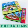Alibaba Buch Produkt Fruit Geruch Typ und Softcover Book Cover Sound Kinder 3D Bücher